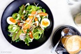 Home Tea Smoked Salmon Salad