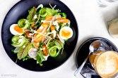 Home Tea Smoked Salmon Salad
